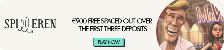 €900 + 500 free spins